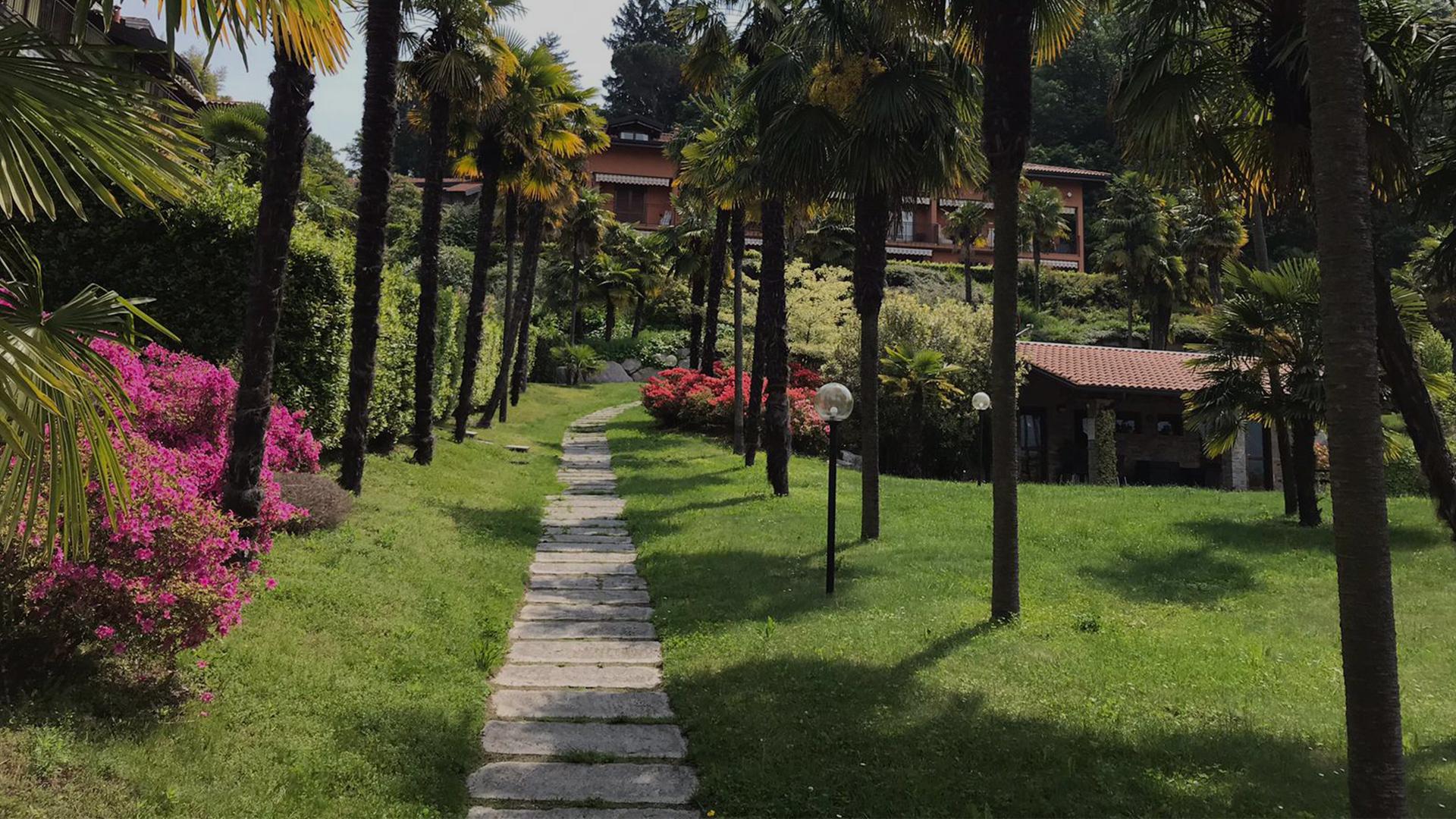 Residence Le Palme a Cerro di Laveno